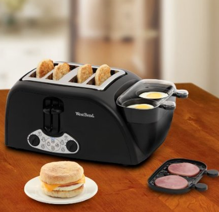 west end egg muffin toaster