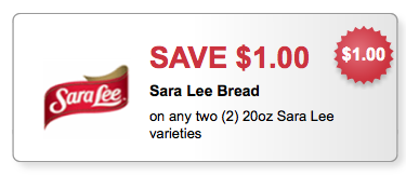 sara lee bread coupons
