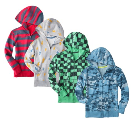 boys zip up hoodies