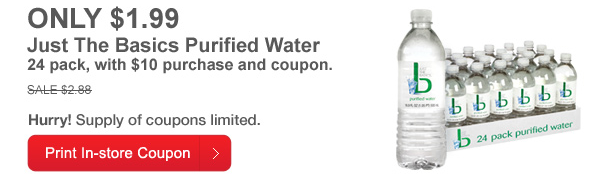 cvs purified water