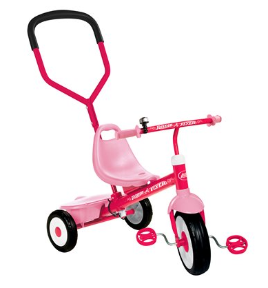 Radio Flyer Girl S Steer Amp Stroll Trike Pink For 45 Shipped