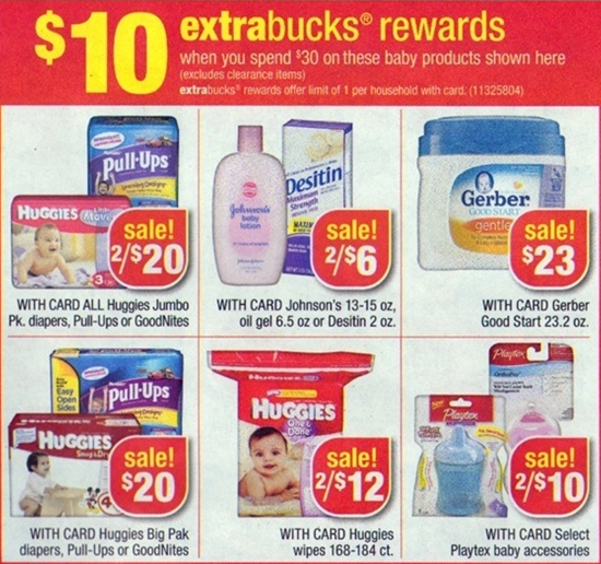 huggies diapers cvs