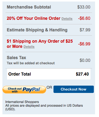 Screen Shot 2013 03 29 at 10.22.51 AM Bath and Body Works: Buy 3 Get 3 Free Sale Plus Additional 20% off and $1 Shipping