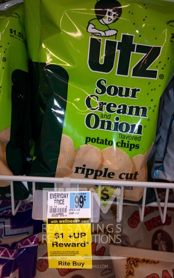 free UTZ chips at rite aid