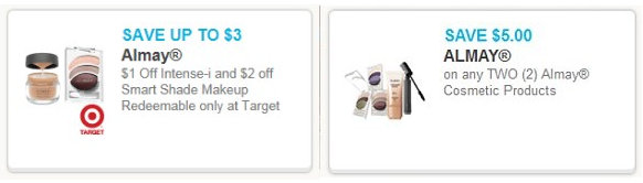 almay Almay Cosmetics Printable Coupons + Target Price Cut Deals