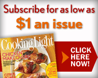 cooking light Cooking Light Magazine Subcription for $1 an Issue