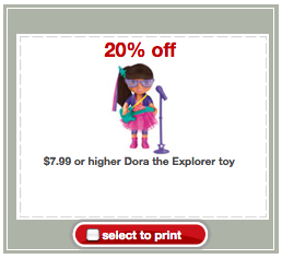dora Dora The Explorer Toy Deals at Target With Coupon Stack