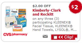 kleenex cvs New Kleenex $2/3 Kleenex Product Coupon + CVS Deal Starting 4/7