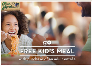olive garden kids eat free through march 21 2013 Olive Garden: FREE Kids Meal with Adult Entree Purchase Coupon