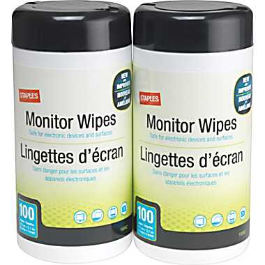 monitor wipes