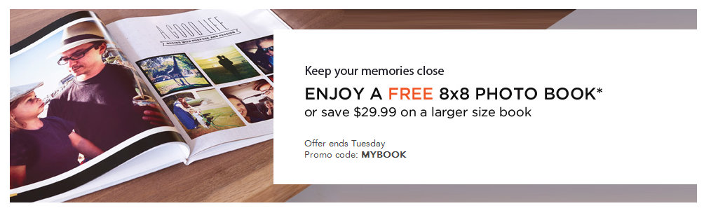 shutterfly Shutterfly: Free 8x8 Photo Book (Just Pay Shipping) *Ends Today*