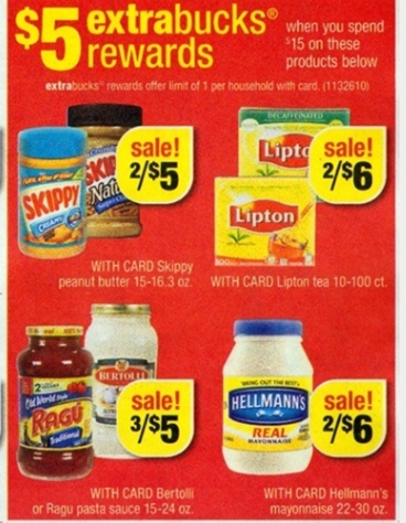 skippy CVS: Skippy Peanut Butter = $1.67 (No Coupons Required) Plus Bertolli Scenario