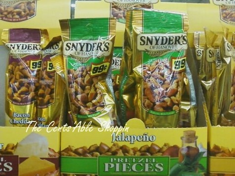 snyders FREE Snyder Flavored Pretzel Pieces at Walmart