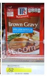 target gravy McCormick Gravies Printable Coupon + Target Deal