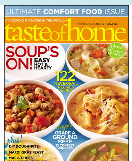 taste of home magazine for only 3 99 per year today only Taste of Home Magazine for Only $3.99 per Year – Today Only!