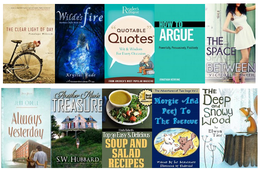 tuesdaysfreeebooks Free Kindle Book: Fiction, Action, Mystery, Thrillers, Cookbooks, Non Fiction, Childrens and More for 3/5