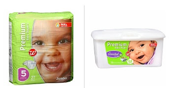 wags Walgreens Brand Diapers and Wipes BOGO FREE (Mix and Match) Deals