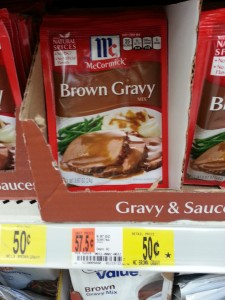 walmart gravy