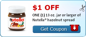 nutella coupons
