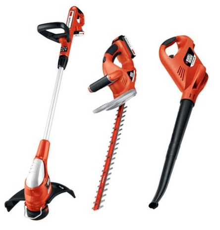 black and decker landscaping tools