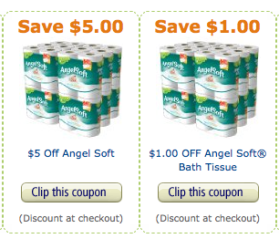 Amazon 6 Off Quilted Northern And Angel Soft Toilet Paper Pay As