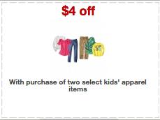 Target apparel coupon