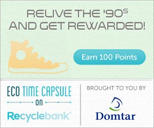 ab Recyclebank: Earn 100 More Points
