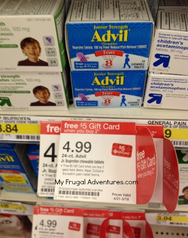 advil gift card offer