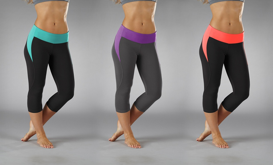 bL 960x582 Marika Tek Solstice Lightning Capri Leggings for $17.99 Shipped