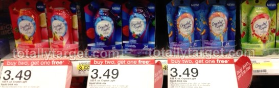 crystal light Crystal Light Liquid Drix Mix As Low As $1 at Target
