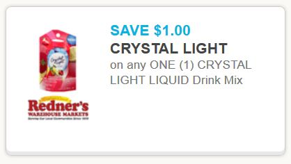 crystal New Crystal Light Liquid Water Enhancer Coupon + Target and Walmart Deals