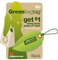 green bag tag CVS: Say Good Bye to the Green Bag Tag Program with $2 ECBs FREE