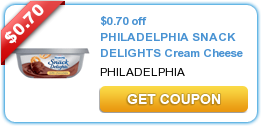 philadelphia snack delight printable coupons