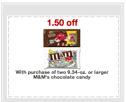 mm $1.50/2 M&M Target Printable + Easter Clearance