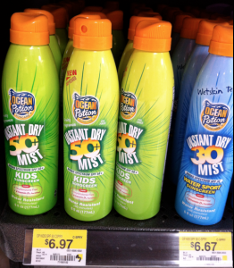 ocean Ocean Potion Sun Care Product Printable Coupon + Walmart Deals