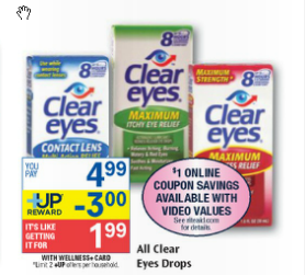 ra1 Rite Aid: FREE Clear Eyes Drops