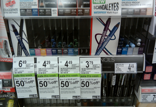 rimmel Rimmel Cosmetic Buy One Get One 50% Off Deals at Walgreens