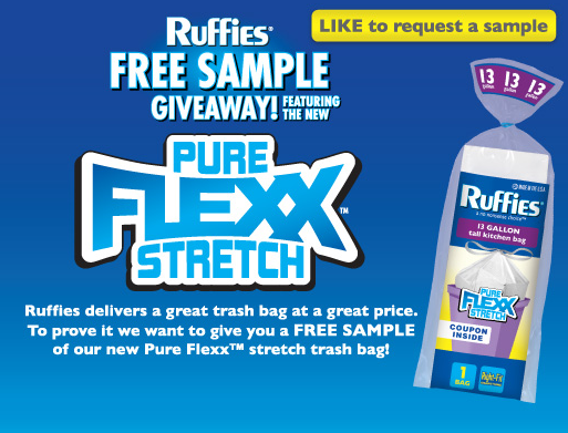 ruffies FREE Sample of Ruffies Trash Bags