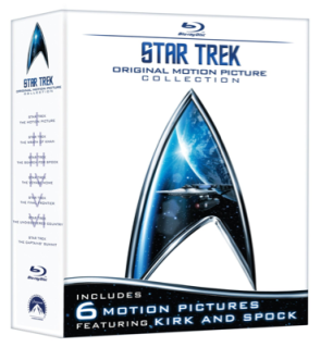 star trek Star Trek Original Motion Picture Collection DVD for $22.49 or Blu ray $34.99