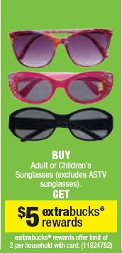 sunglasses Sunglasses As Low As $1.99 at CVS