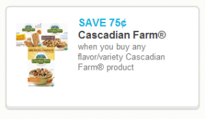 Cascadian2 300x174 Round Up of Organic & Natural Deals   May 30