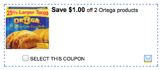ortega printable coupons