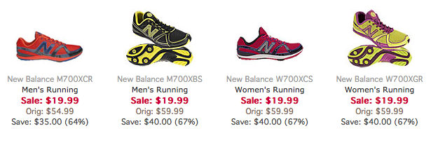 Screen Shot 2013 05 08 at 12.00.57 PM New Balance Running Shoes for only $19.99 plus $1 Shipping!