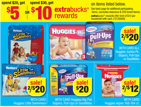 Screen Shot 2013 05 19 at 9.07.54 AM CVS: Huggies Pull Ups for as low as $3.33 Each!