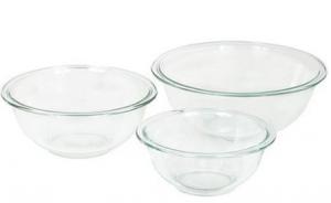Amazon: Pyrex Prepware 3-Piece Mixing Bowl Set for $12.33 (Reg. $24.95)