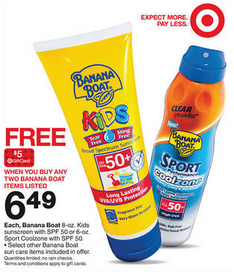banana boat coupons