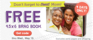 free brag book FREE Brag Book Courtesy of Walgreens ($6.99 Value) + Shipping