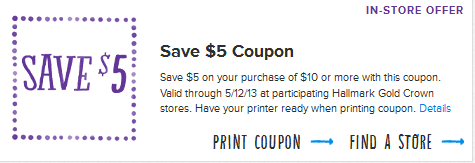photo regarding Hallmark Printable Coupons identify Hallmark Printable Discount coupons $5 Off $10 Obtain Preferred