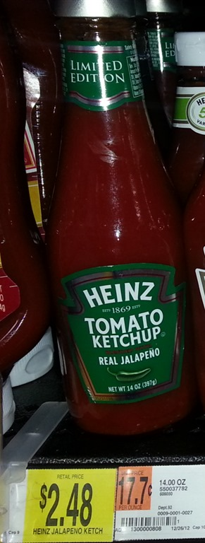 heinz jalapeno Heinz Ketchup Printable Coupons = $1.98 at Walmart