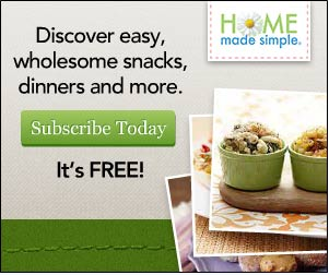 home2 Home Made Simple: FREE Menu Planner and Newletter (Great for Recipes, Crafts, Tips and More)